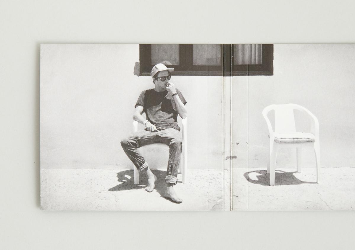 Clueso Handgepaeck 1 Album Cover CD Digipack augeklappt Innenansicht