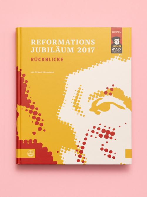 Luther 2017 Reformationsjubilaeum Buch Umschlag Titelseite