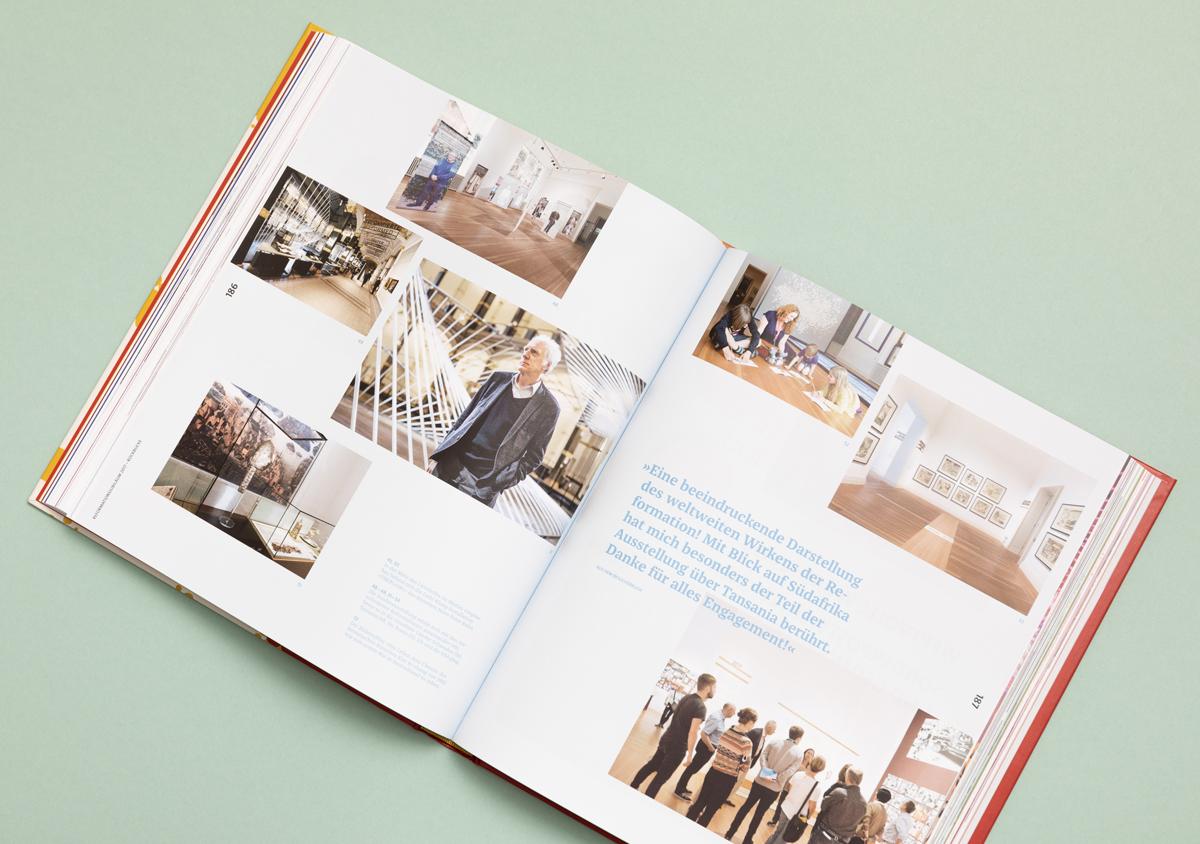 Luther 2017 Reformationsjubilaeum Buch Innenseite Fotos Zitat