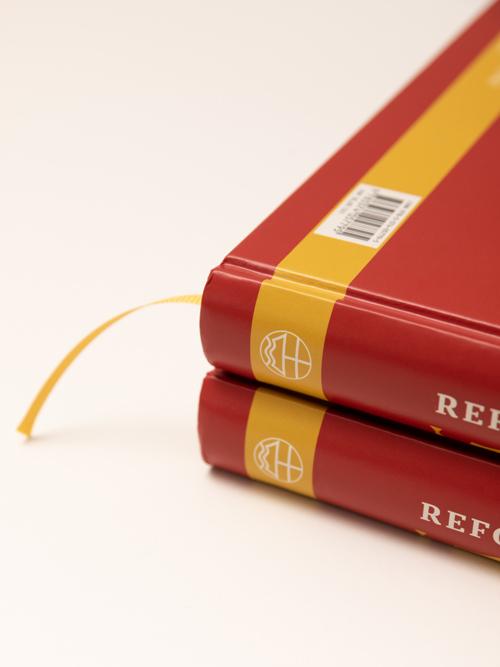 Luther 2017 Reformationsjubilaeum Buch Umschlag Detailaufnahme