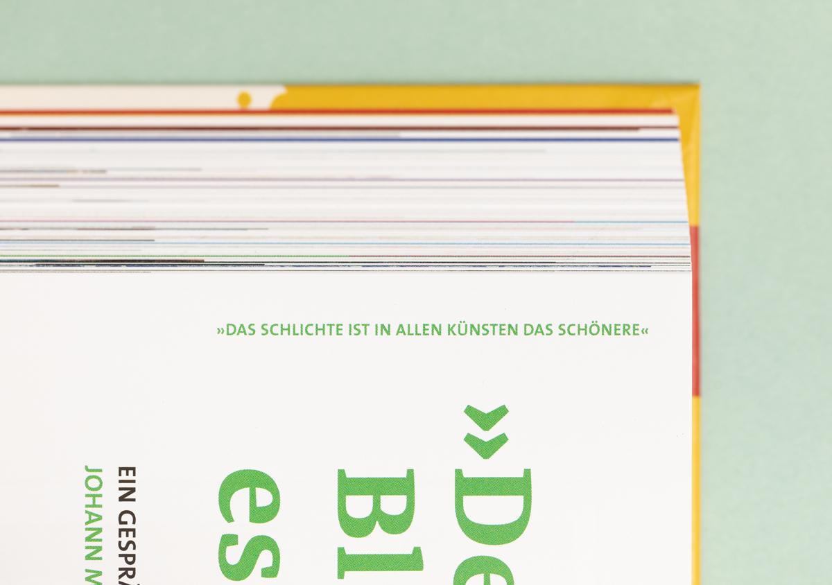 Luther 2017 Reformationsjubilaeum Buch Innenseite Detailaufnahme Rubrik Zitat